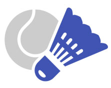 Racquet Sports Icon