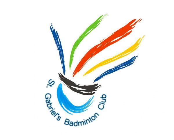 St Gabriel's Badminton Club Logo