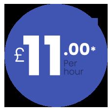 £11 per hour